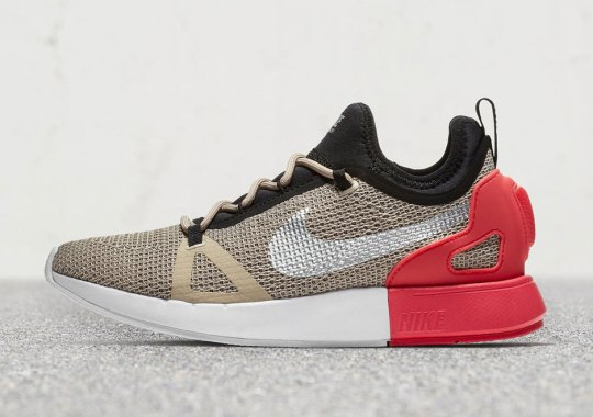 The Nike Duel Racer Arrives In Beige And Pink