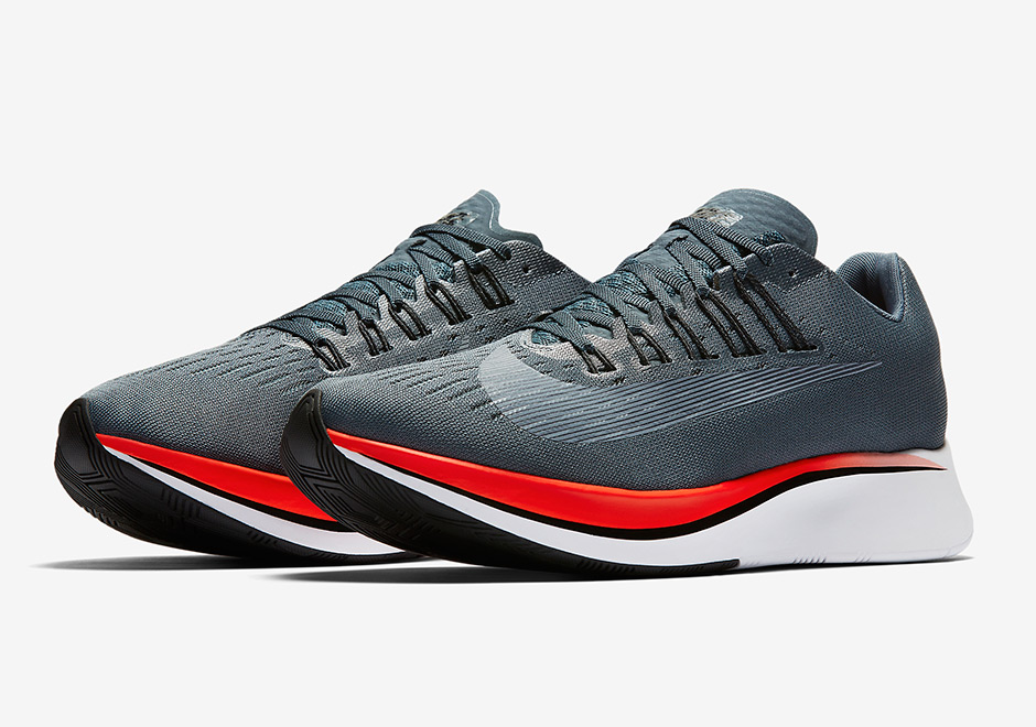 the best attitude dea5a c4342 Nike Zoom Fly Release Date  June 8th, 2017. AVAILABLE ON Nike.com  150.  Color  Blue-Fox Bright Crimson-University Red-Black