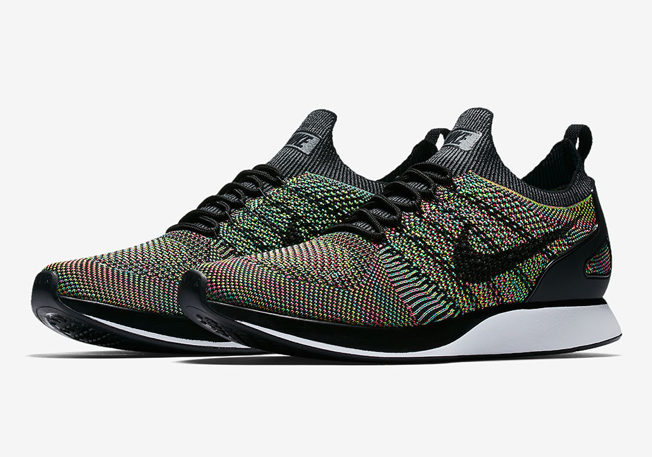 "new concept 13683 be3aa Nike Zoom Mariah Flyknit Racer ""Multi-Color"" Releases On July 6th"