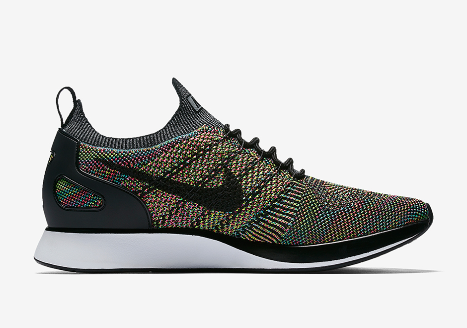 """the latest 0f0d9 3b65d Nike Zoom Mariah Flyknit Racer """"Multi-Color"""" Release Date July 6th, 2017  150. Color Multi-ColorBlack-White"""