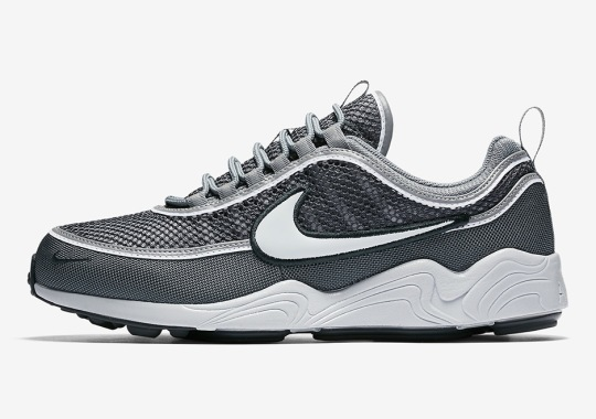 The Nike Zoom Spiridon Returns In A Greyscale Colorway