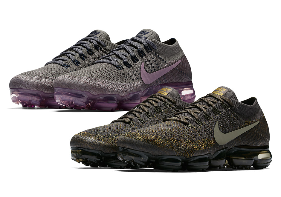 wholesale dealer 73dd6 c5e8a NikeLab VaporMax Cargo Khaki and Tea Berry Colorways   SneakerNews.com