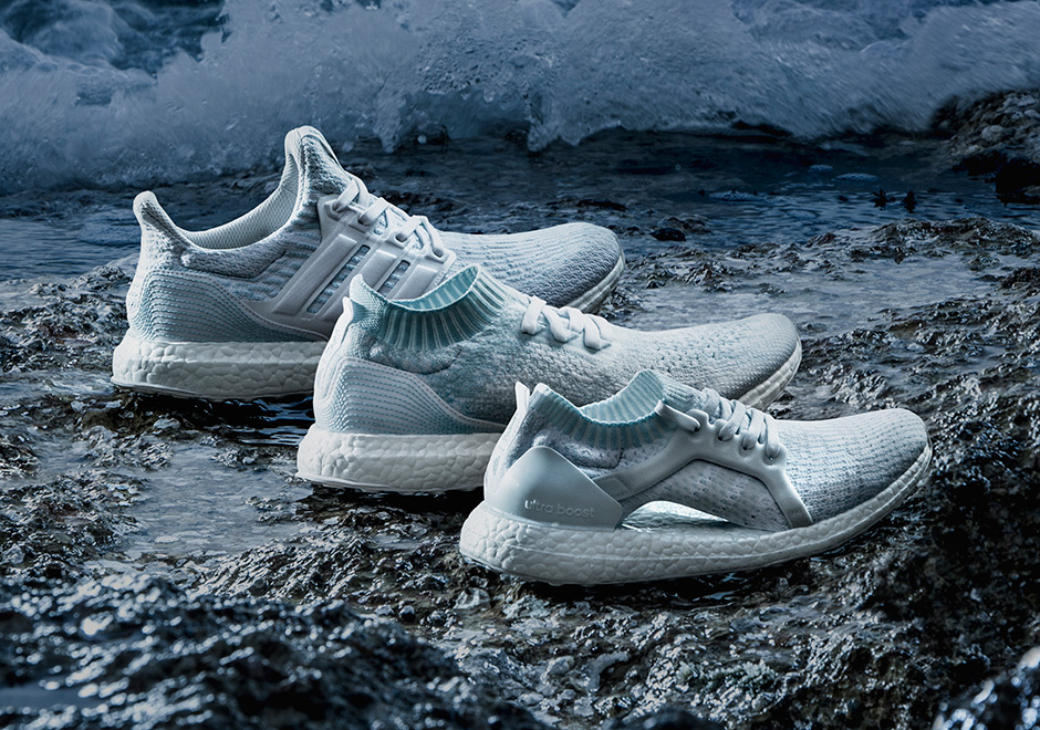 32024bfcc41f adidas and Parley have joined forces yet again for footwear capsule  designed to raise awareness one on one of the more pressing issues plaguing  our oceans.