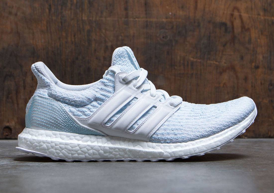 After dropping earlier this month (June 8th) exclusively at adidas.com and their own stores, the latest Ultra Boost collection by Parley for the Oceans is ...