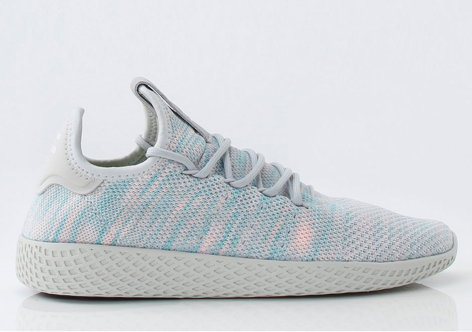 super popular e7964 e8ed5 Pharrell x adidas Tennis Hu Release Date  July 21st, 2017 (Europe) Release  Date  July 28th, 2017 (US)  130. Style Code  BY2671 (Light Blue)