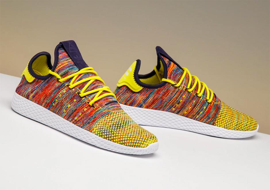 Pharrell Adidas Tennis Hu Multi Color Preview By Stadium