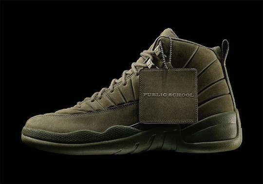 Maxwell Osborne Officially Announces Upcoming PSNY x Air Jordan 12 Collaborations