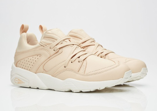 The Puma Blaze Of Glory FM Gets The Trendy Leather Look