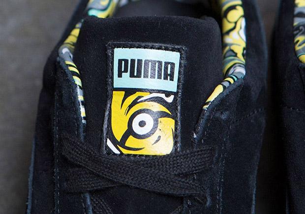 16721332cc0 Minions Puma Suede + Disc Blaze Sneakers