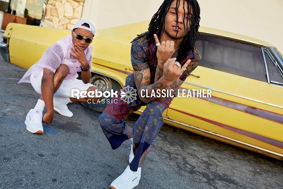 06a7ebd4b0169 Rae Sremmurd Reebok Classic Leather Campaign