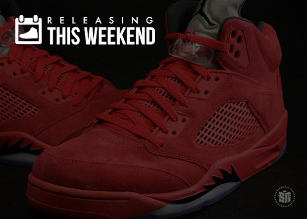 cd7dff9c5800de The Best Sneakers Releasing This Weekend From All Red Jordan 5s ...