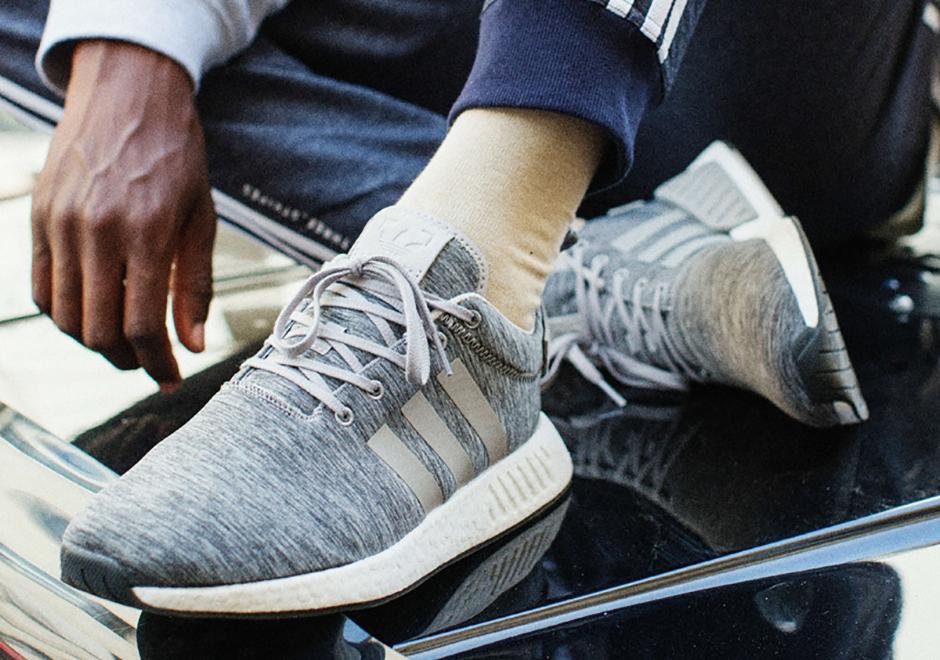 sale retailer adb7f 89edd SneakersNStuff adidas NMD R2 Grey Melange Pack Release Date ...