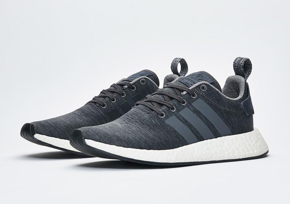 Sneakersnstuff Adidas Nmd R2 Grey Melange Pack Release Date Sneakernews Com
