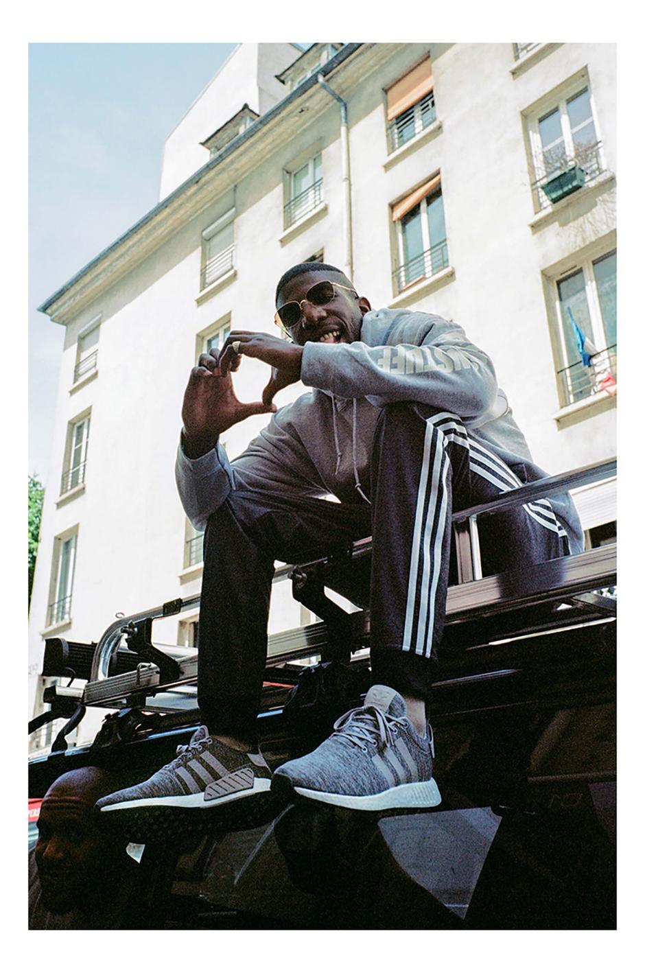 sale retailer b33f1 25153 SneakersNStuff adidas NMD R2 Grey Melange Pack Release Date ...