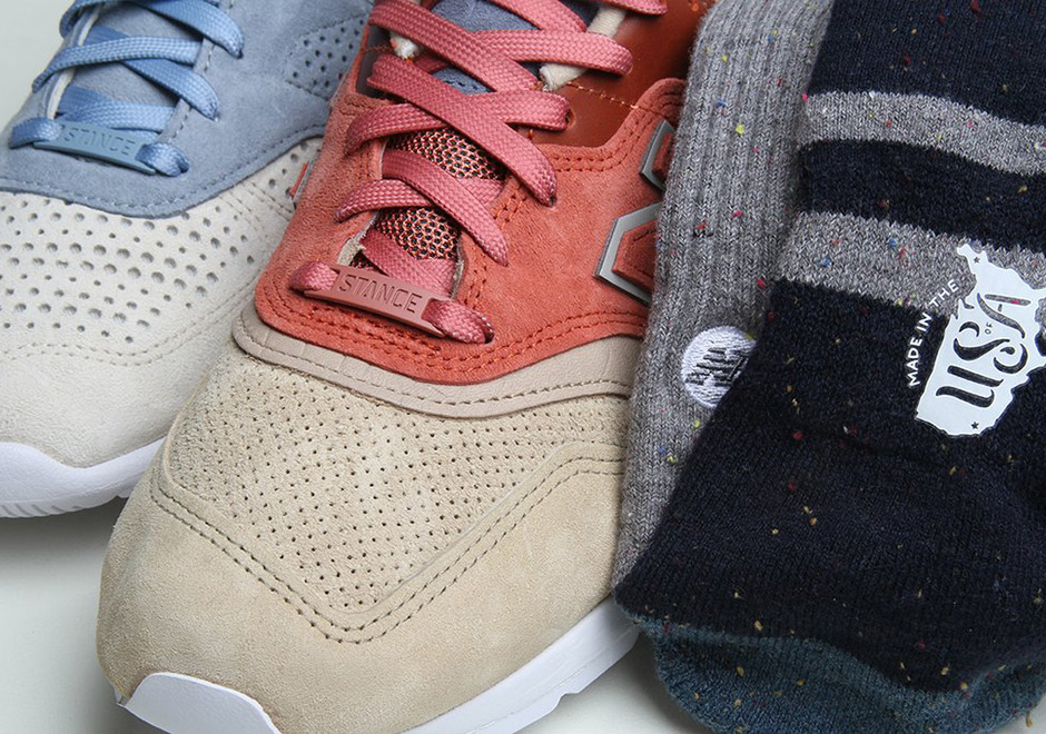 sports shoes cfa12 bdaca Stance New Balance 997 + 1978 Collab Release Info ...