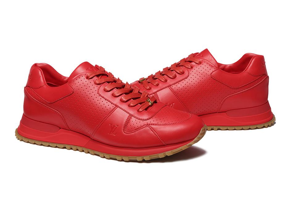 Supreme X Louis Vuitton Run Sneaker Release Date June 30th