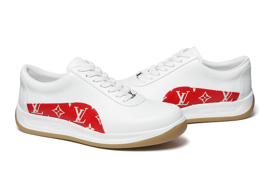 supreme lv louis vuitton sport sneaker white - The Best and Worst Sneakers of 2017