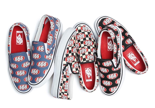 "The Supreme x Vans Slip-On ""666"" Pack Releases Tomorrow"