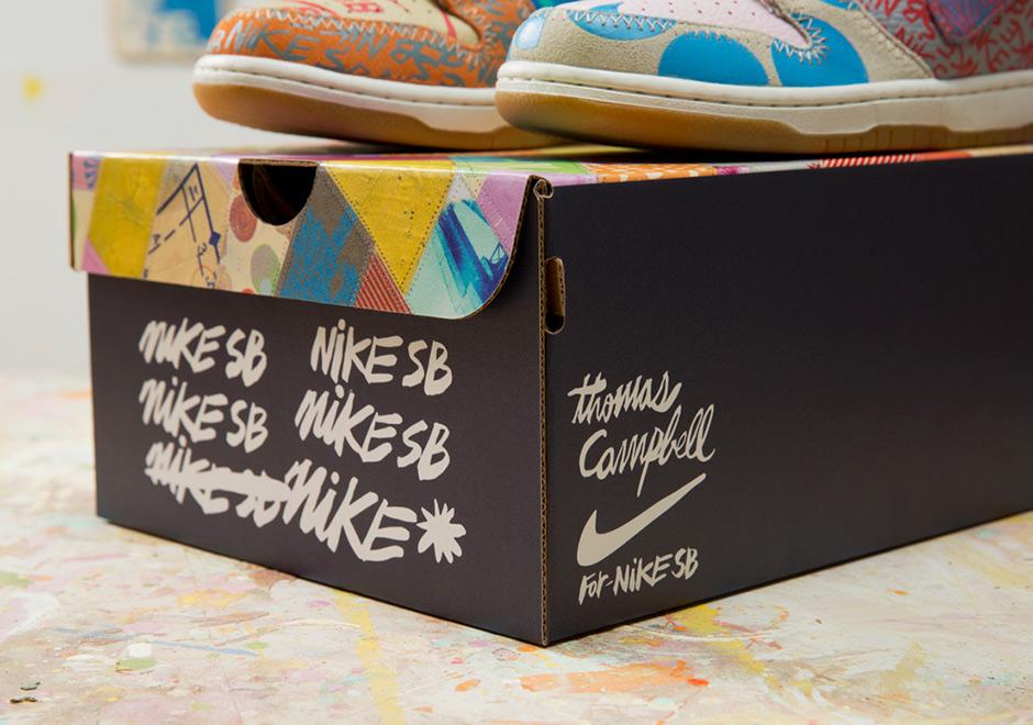 official photos 70e1d fee8b Thomas Campbell Nike SB Dunk High Special Box   SneakerNews.com
