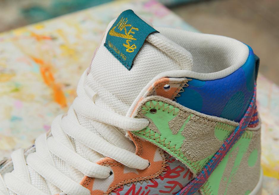 official photos 76f38 5ed54 Thomas Campbell Nike SB Dunk High Special Box   SneakerNews.com