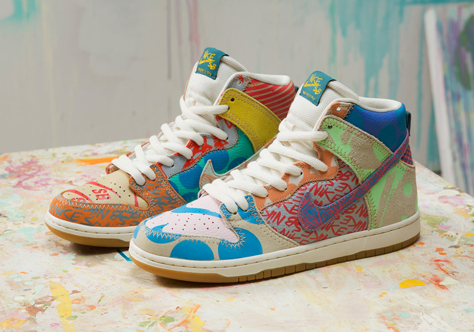 huge selection of 3543e 9be8d Nike Sb Zoom Dunk High Prm X Thomas Campbell 918321-381 Sample