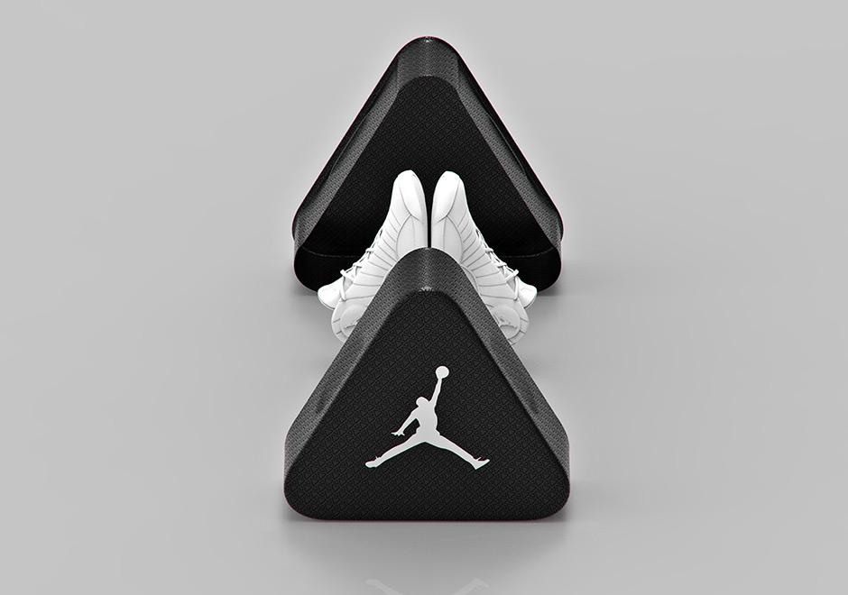 Triangle Air Jordan Shoe Box Concept Sneakernews Com