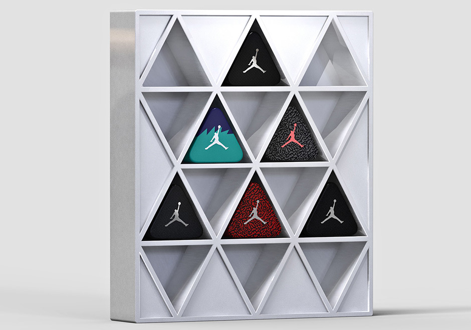 One industrial designer has an awesome new concept to spice up your piles  of sneakers. Tomislav Zvonaric recently presented his triangular Air Jordan  ... 96ce59c881
