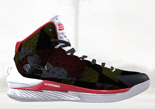 "Under Armour Launched Customizable ""Icon"" Platform With Steph Curry's First Signature Shoe"