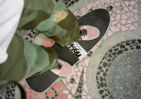 Stussy And Vans Release Summer 2017 Footwear Collection