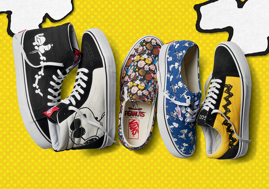 a0a32e66083 Vans Unveils Huge New Sneaker and Apparel Collection Featuring Snoopy And  The Peanuts Gang