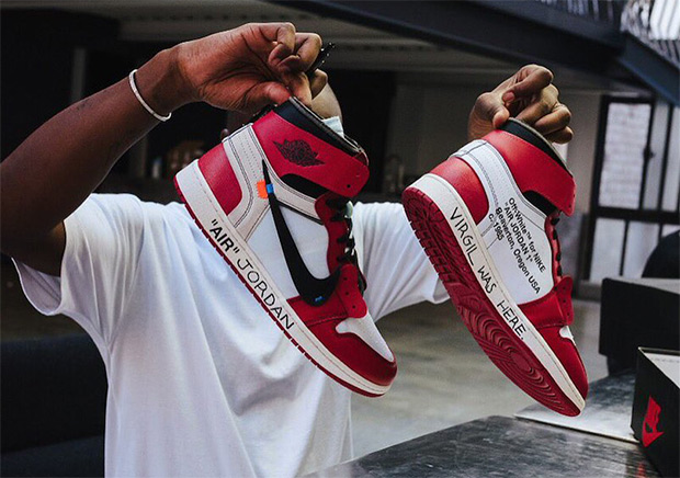 4a83c888b281dc Virgil Abloh Customizes OFF WHITE x Air Jordan 1 For Michael Jordan ...