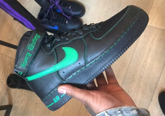 A$AP Bari Reveals Five Colorways Of The VLONE x Nike Air Force 1 High