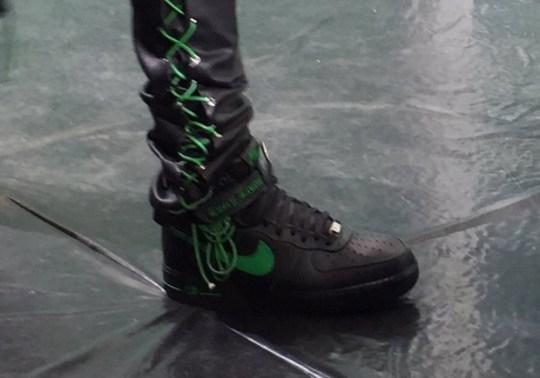 A$AP Bari Reveals New VLONE x Nike Air Force 1 At Paris Show