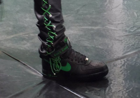 A$AP Bari Reveals New VLONE x Nike Air Force 1 At Paris Show