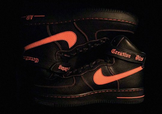 Is The VLONE x Nike Air Force 1 High Releasing?