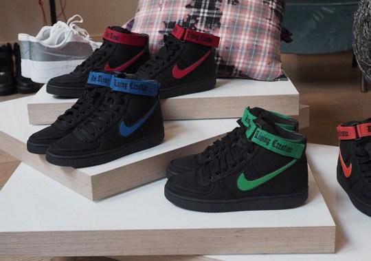 VLONE x Nike Vandal High Spotted At Paris Fashion Week