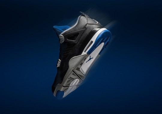 "Where To Buy The Air Jordan 4 ""Alternate Motorsports"""