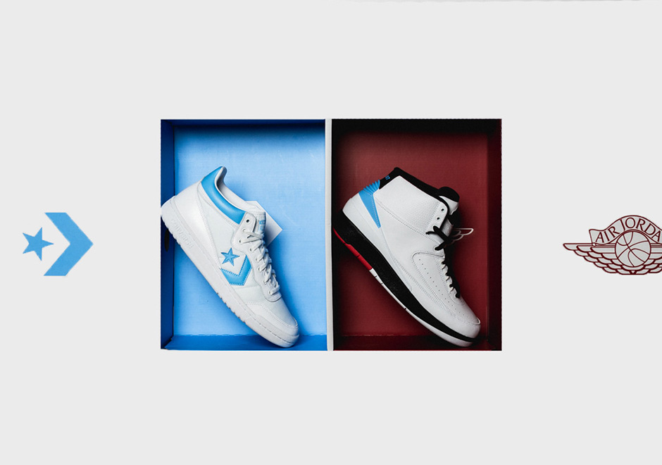 7d056211bfc4 Jordan x Converse Pack - June 28th Release