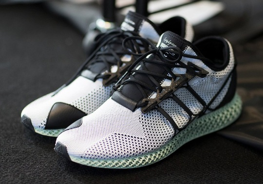 adidas Y3 Futurecraft 4D Spotted At Paris Fashion Week Show