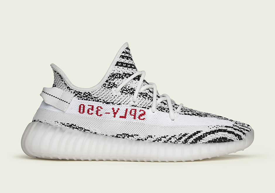 "Store List For The adidas Yeezy Boost 350 V2 ""Zebra"""