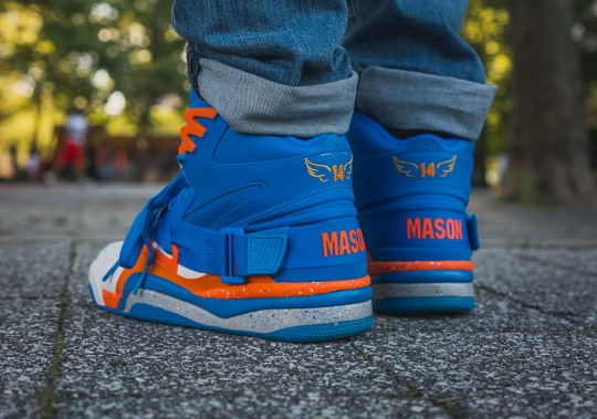 New Ewing Athletics Concept Honors Knicks Great Anthony Mason