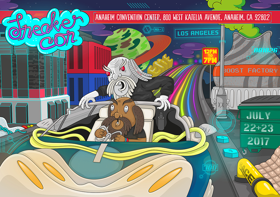 Sneaker Con Los Angeles 2017 Info and