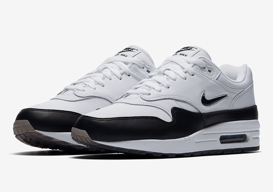 Nike Air Max 1 'Jewel' BlackWhite For Sale – Jordans For All