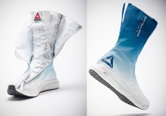 Reebok Creates Revolutionary New Space Boot For Astronauts