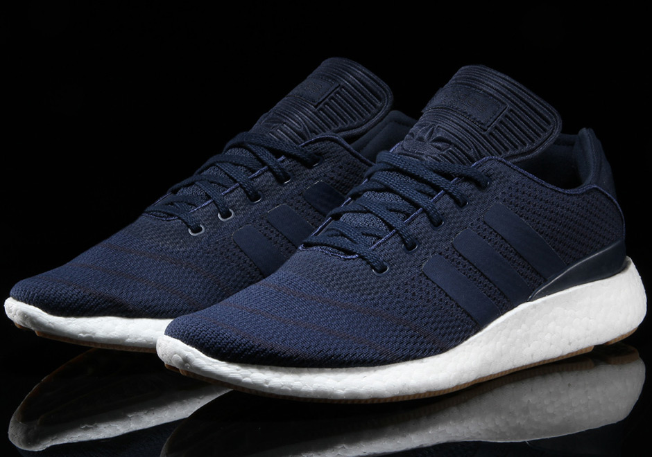 975e343e99f11 adidas Busenitz Pure Boost Navy BY4092