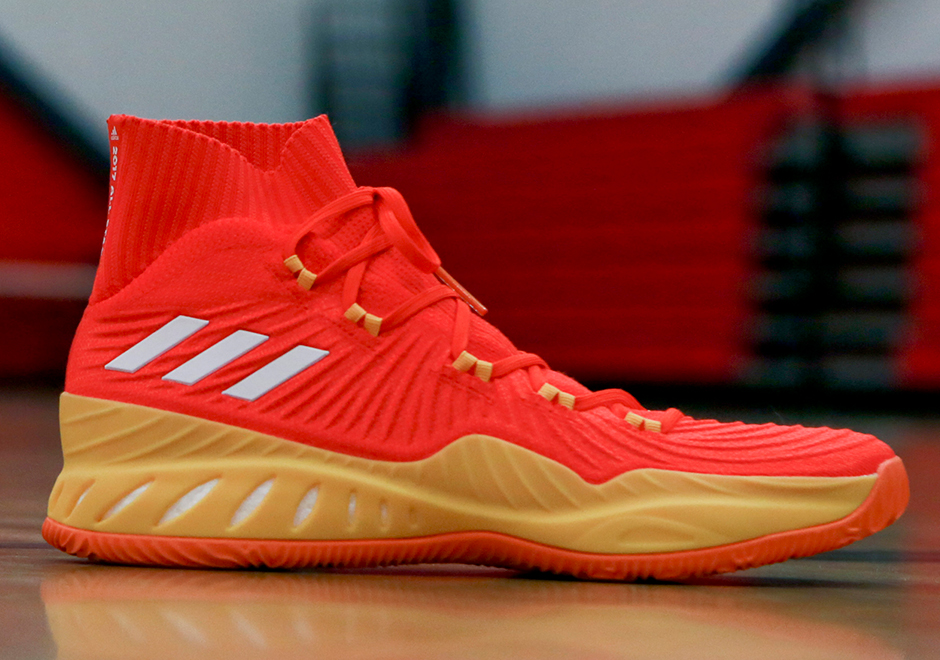 finest selection 9fe74 ada4c The adidas Crazy Explosive 17 is garnering quite the buzz. Think about how  far the shoe has come along – since the days of initial Andrew Wiggins PEs  being ...