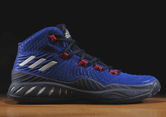 This adidas Crazy Explosive 17 Swaps Primeknit For Something More Durable