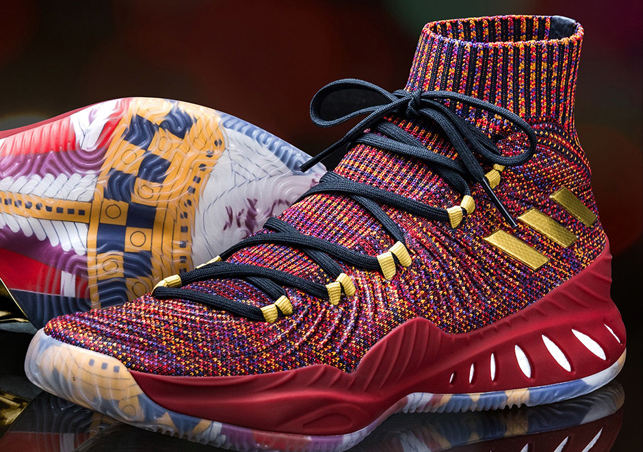 best sneakers 6b067 644ed adidas Launches The Crazy Explosive Primeknit In Vegas-Inspired Colorway