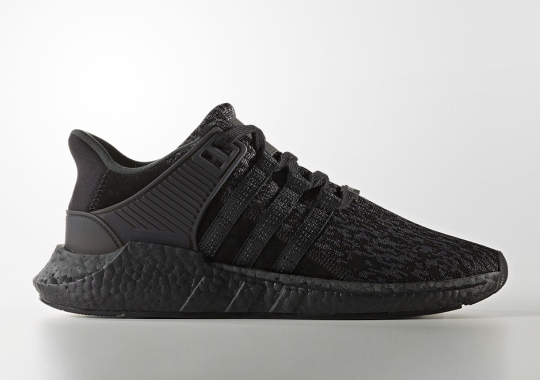 "adidas EQT 93/17 Boost ""Triple Black"" Releasing On Black Friday"
