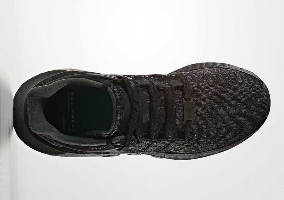 50cdfdc1dd35 adidas EQT 93 17 Boost Triple Black Release Date BY9512 ...